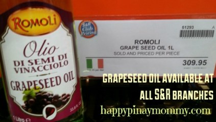 Grapeseed Oil at S & R