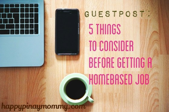 Here are some of the things that you may have to consider when working from home full time.