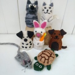 pet finger puppets