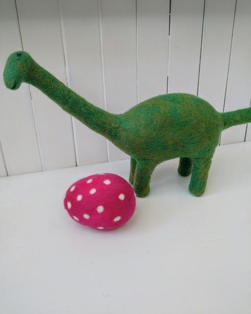 big green dinosaur