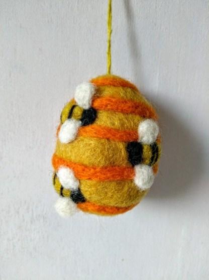 felt bee hive