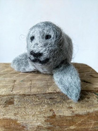 felt grey seal