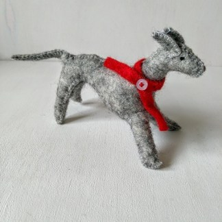 felt greyhound