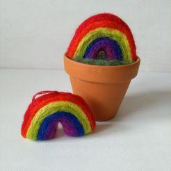 felt rainbows