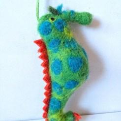 felt seahorse