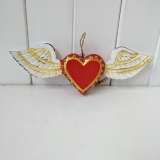 mexican heart wings