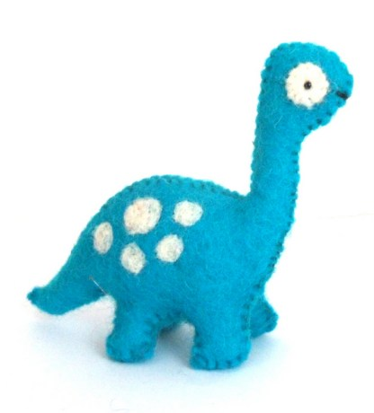 small blue dino