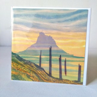 sunrise lindisfarne card