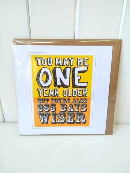 365 days wiser card