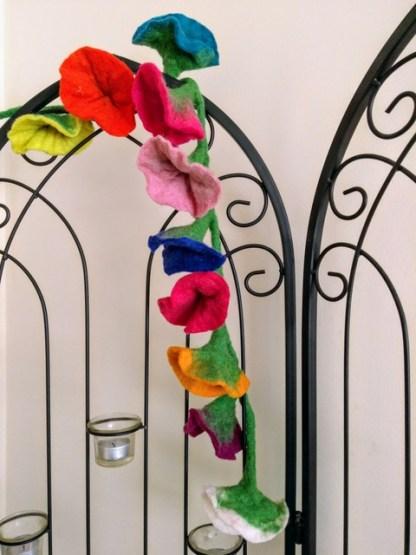 multi coloured flower garland 2