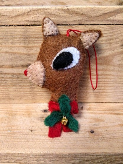 red nose deer dec