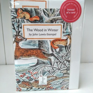 the wood in winter booklet