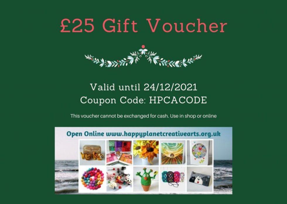 £25 Gift Voucher Example