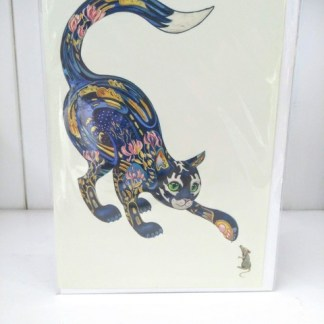 cat and mouse card