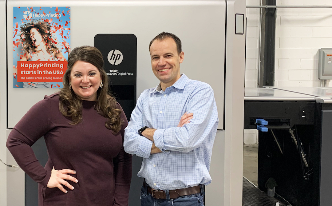 HappyPrinting starts in the USA