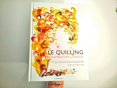 Livre le Quilling d'inspiration chinoise