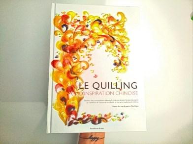 Livre le Quilling d'inspiration chinoise