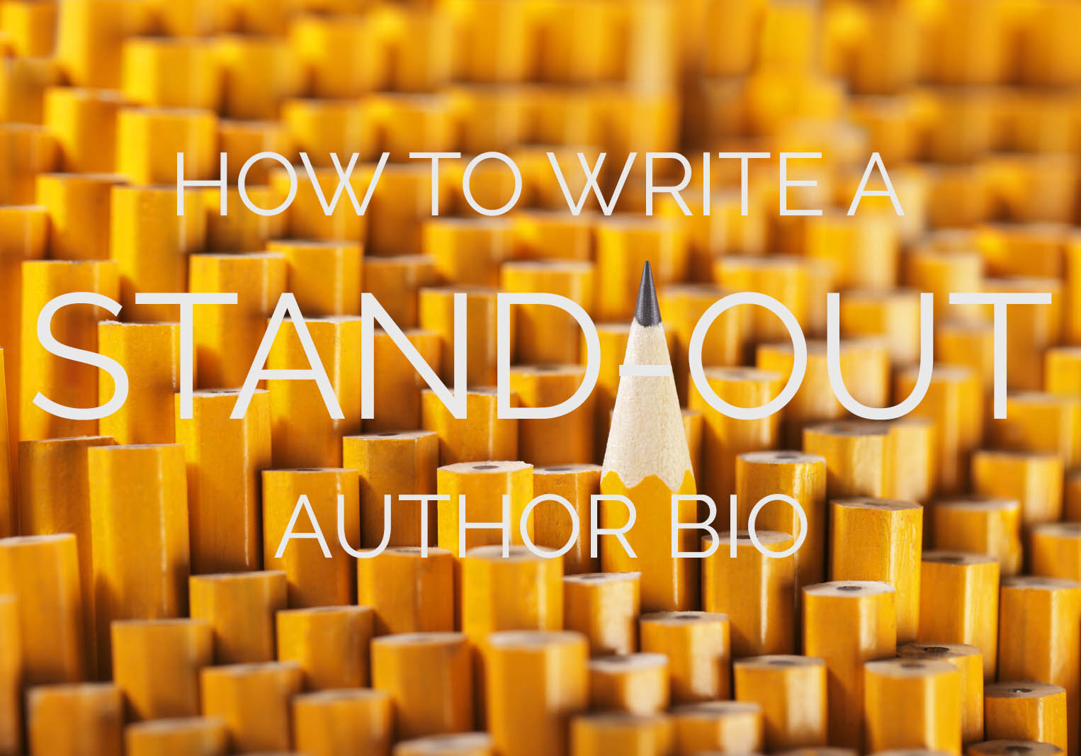 How to Write a Stand-Out Author Bio - The Happy Self-Publisher