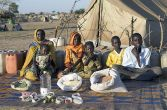 Photo taken from what the world eats - http://heartsinunity.blogspot.com.au/2009/07/feeding-family-for-week-around-world.html This one is a family in a refugee camp in Chad