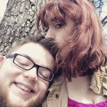 Kurt and I took a hike in the woods after classes and took a break to snap a few pictures!