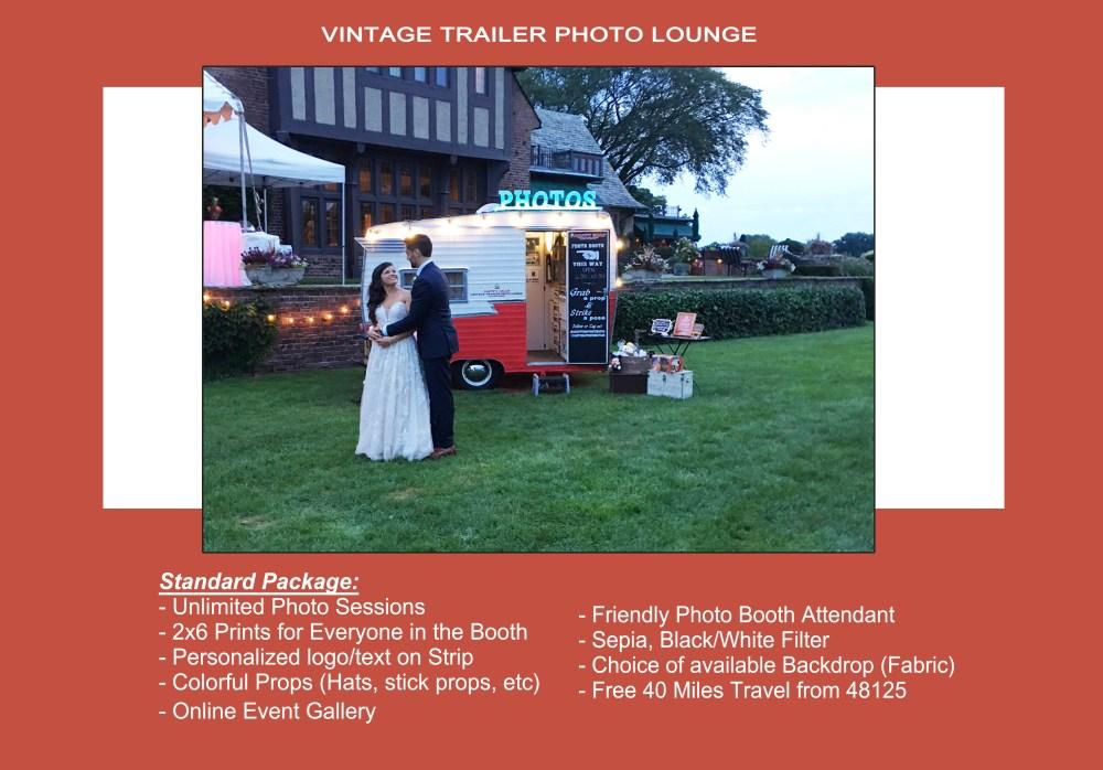 Vintage Trailer Photo Lounge