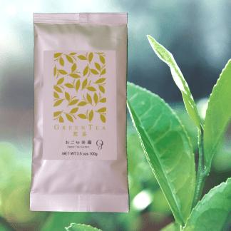 Sencha green tea from Shizuoka, Japan