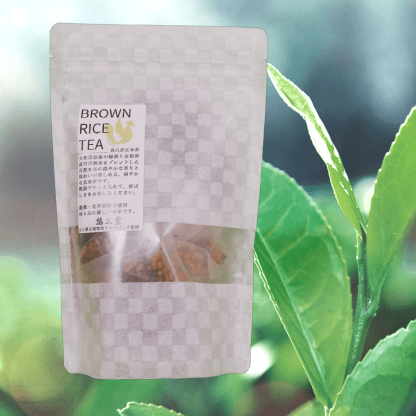 Genmaicha tea from Nara, Japan