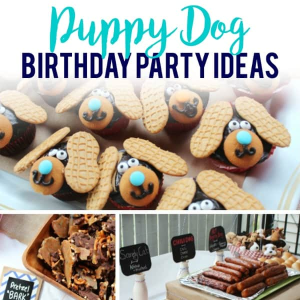 Diy Puppy Dog Birthday Party Happy Strong Home