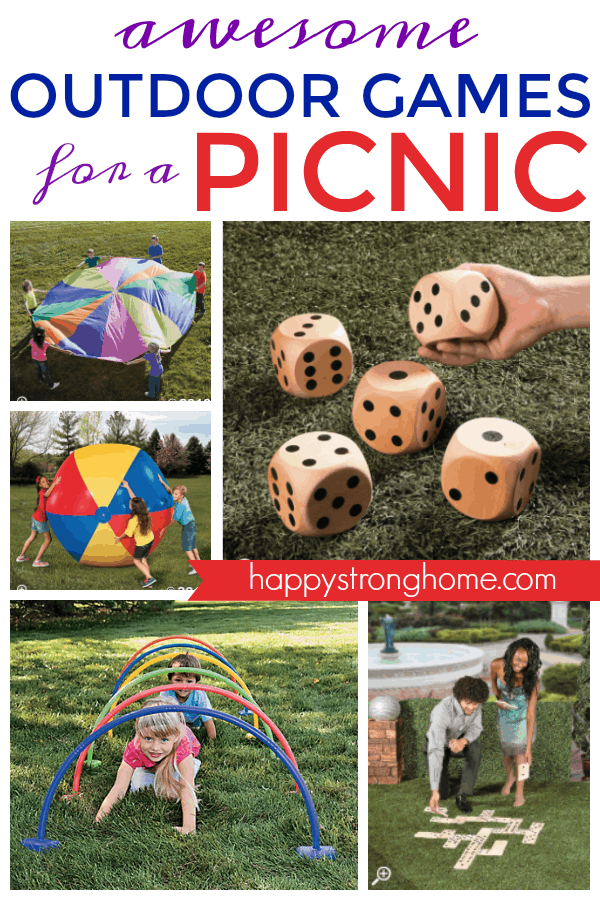 Outdoor Picnic Games