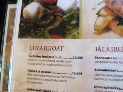 Piatta menu