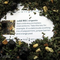 Cold 911 tea from David's Tea