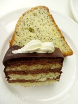 Cake and poppyseed loaf at the Butchart's Afternoon Tea