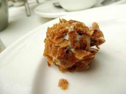 Truffle - at the Butchart's Afternoon Tea