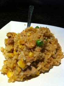 Chicken fried rice from The One Sushi