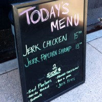 Jamaican Jerk food truck