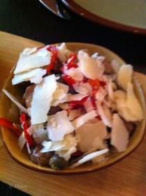 mushroom salad from Cibo