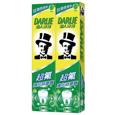 黑人超氟強化琺瑯質牙膏