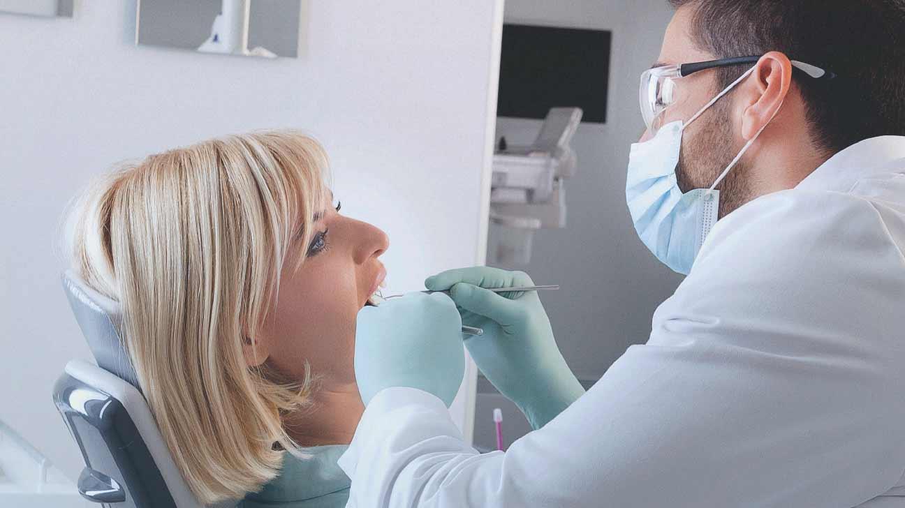 牙科檢查牙齒