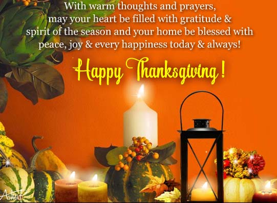 Happy thanksgiving greeting cards for friends family everyone thanksgiving card messages m4hsunfo