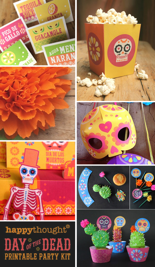 24 easy and fun Day of the Dead party ideas!