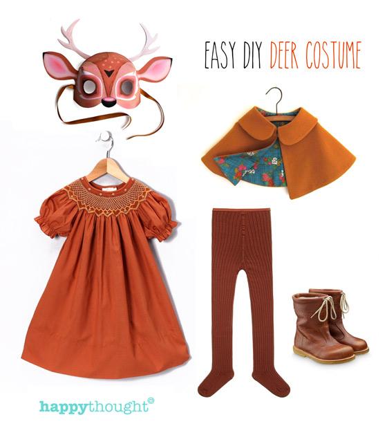 Simple diy mask ideas easy fun dress up animal costume ideas animal costume ideas easy throw together deer costume with deer mask solutioingenieria Gallery