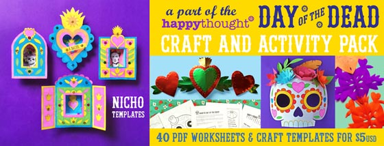 Easy assemble nicho craft activity: Paper craft activity idea!