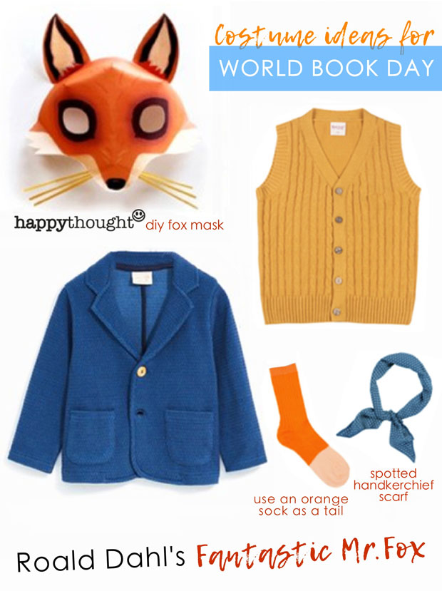 World Book Day easy costume ideas: Elephants, bears, foxes and tigers!