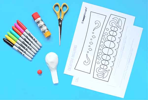 What you need to make your own balloon calavera skull instructions and DIY templates