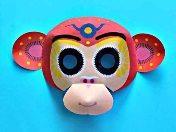 chinese new year monkey mask 2016 year of the monkey