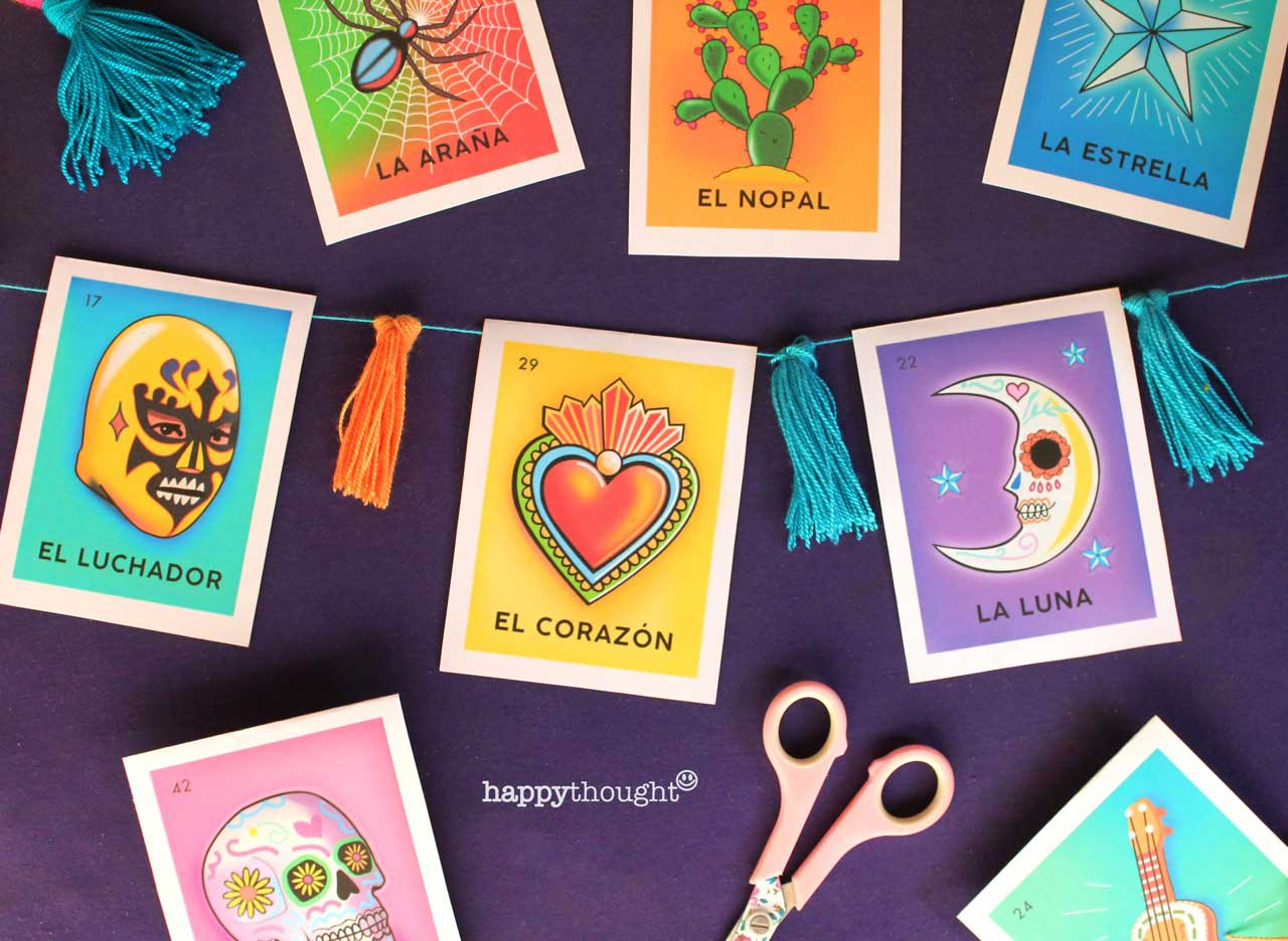 Day Of The Dead Loteria Cards Make Diy Stunning Loteria