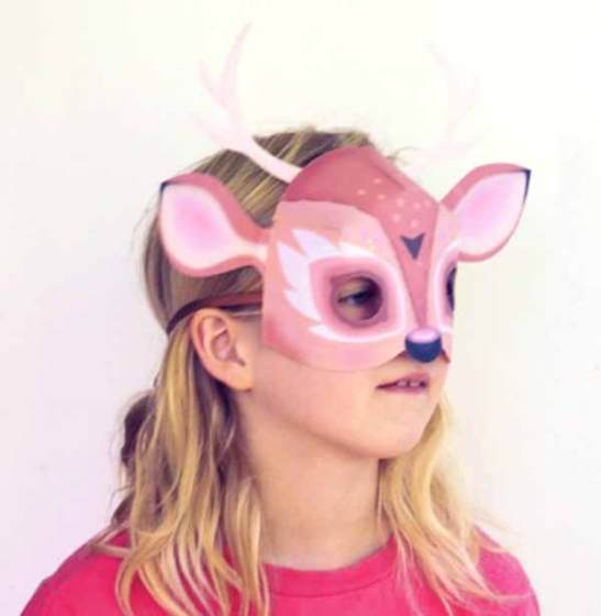 Dress up as your favourite woodland creature, the deer