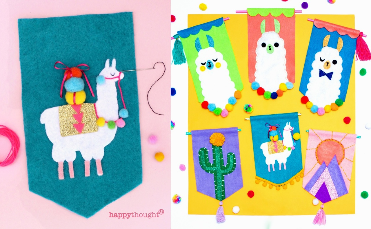 Llama Crafts 18 Fantastic Diy Llama Loving Crafts To