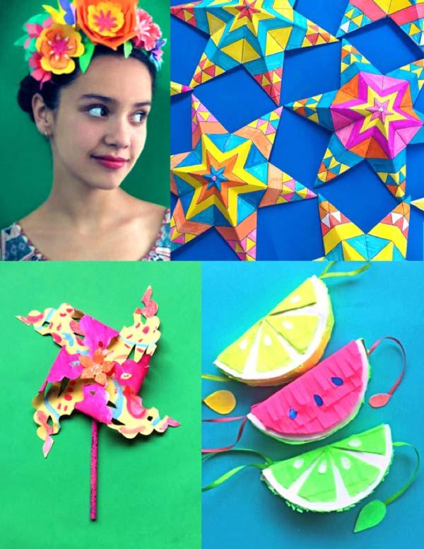 Easy Cinco de Mayo classroom craft activity ideas and tutorials