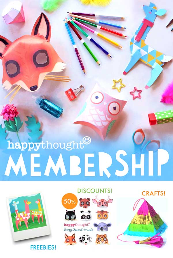 art and craft club ideas happythought membership diy printable templates 5854